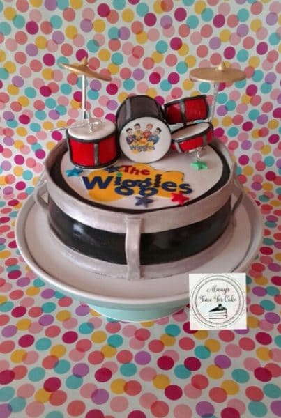 The Wiggles Drum Kit