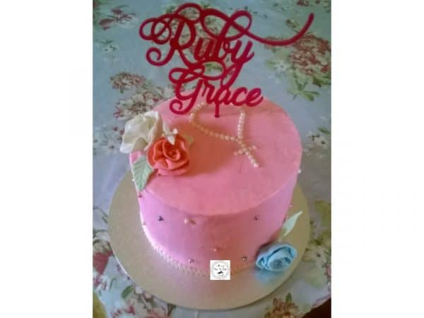 Girl's Communion Cake