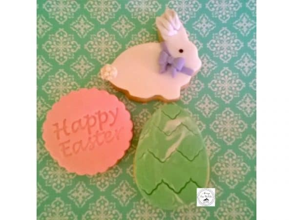 Easter Bunny, Happy Easter & Marbled Cookies Flavour: Vanilla Bean