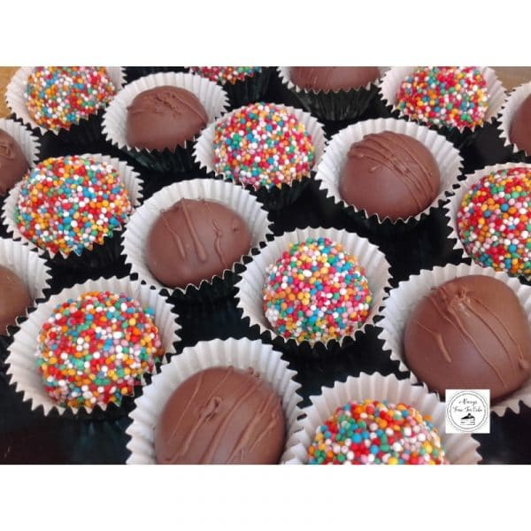 Truffles Chocolate & Sprinkles Coated Desserts Sweets