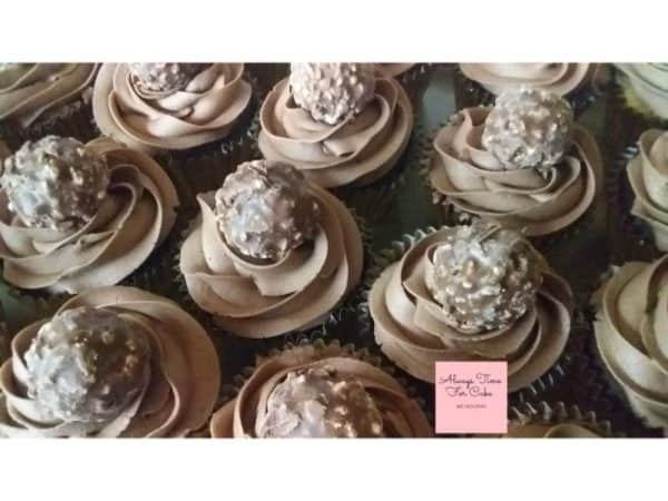 Ferrero Chocolate Delight Cupcakes